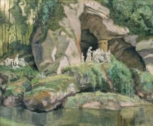 Les Bains D'apollo à Versaille by Alexander Nikolaievich BENOIS