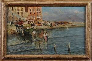 Motiv Från Neapel by Giuseppe GIARDIELLO