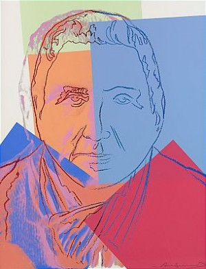 Gertrude Stein by Andy WARHOL