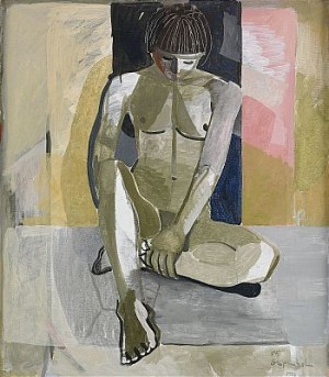 Sittande Modell by Ulf GRIPENHOLM