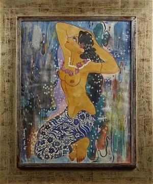 Liggande Kvinna by Aly Ben SALEM