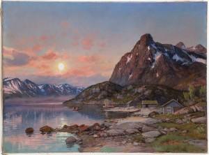Fjordlandskap by Thorvald RYGAARD