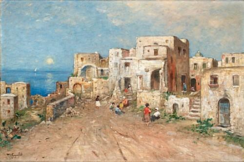 Salernobugten by Wilhelm Von GEGERFELT
