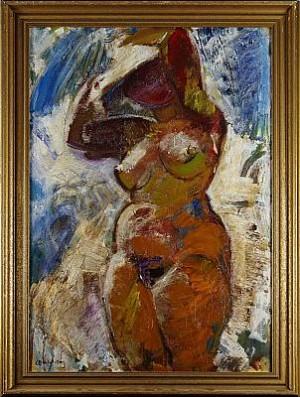 Kvinnlig Akt by Bertil WAHLBERG