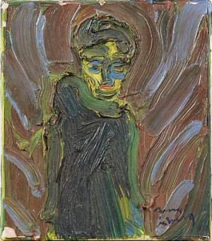 Kvinnofigur by Bengt ÅBERG