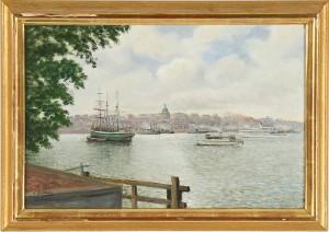 Utsikt Mot Söder, Stockholm by Frans LINDSTRÖM