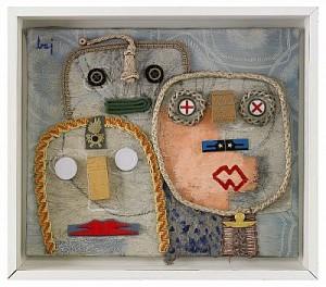 Tre Ansikten by Enrico BAJ