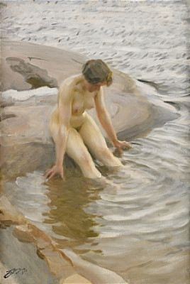 Vått by Anders ZORN