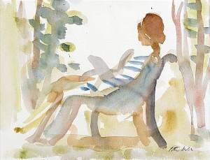 I Trädgården by Peter DAHL