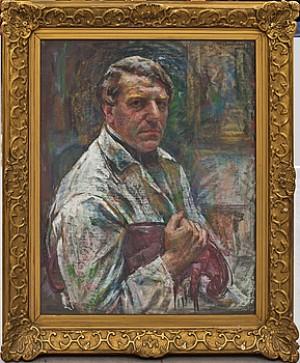 Självporträtt by Henning MALMSTRÖM