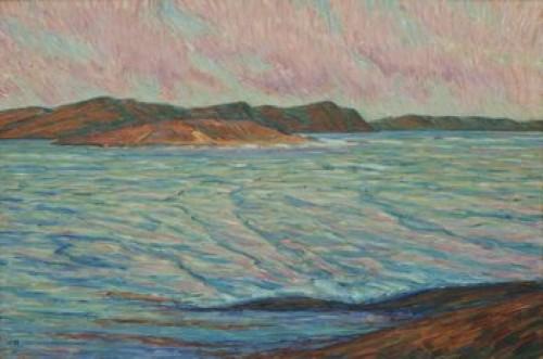 Havsgattet I Solnedgång/inloppet Till Kyrkesund by Karl NORDSTRÖM