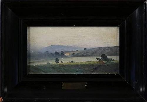Sydländskt Landskap, Tillskriven by Alfred THÖRNE