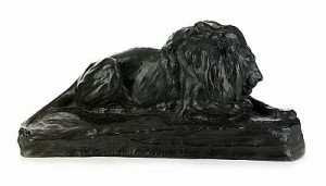 Liggande Lejon by Johan Axel WETTERLUND