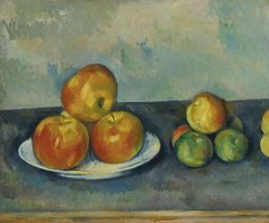 Les Pommes by Paul CÉZANNE