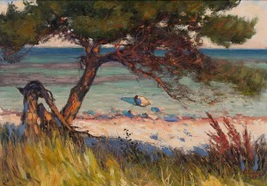 Pine By The Shore by Louis SPARRE