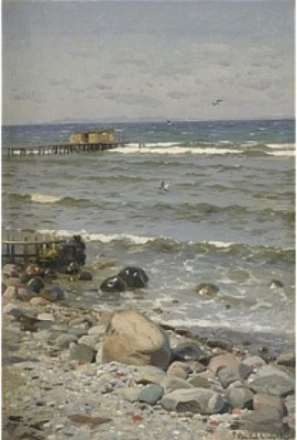 Stranden I Aalsgaard by Peder MÖNSTED