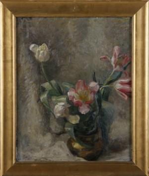 Blomsterstilleben by Olga NYBLOM