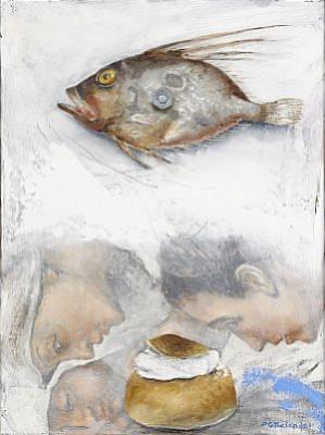 St. Persfisk O Semla by Pär Gunnar 'P. G.' THELANDER