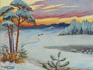 Byälven I Värmlands Nysäter by Olof SAGER-NELSON