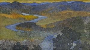 Norrländskt Landskap by Helmer OSSLUND