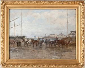 Motiv Från Stadsgården by Victor FORSSELL