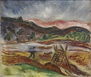 Lövbränning by Gösta SANDELS