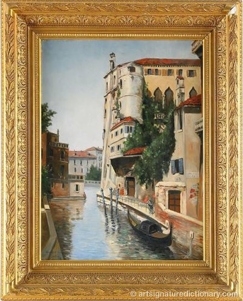Palazzo Contarini - Venedig by Martin August Christian 'Mac' TISELL