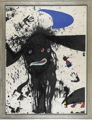 La Ruisselante Lunaire by Joan MIRO