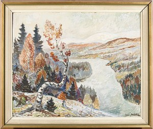 Höst I Oviksfjällen by Einar FORSETH