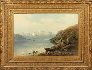 Fjordlandskap by Josefina HOLMLUND