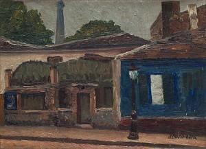 Lapin Agile, Montmartre by Serge CHARCHOUNE