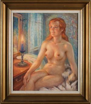 Kvinna by Per-Hilding PERJONS
