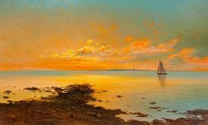 Solnedgång by Leonard WIEDH
