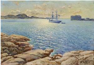 Sommardag, Marstrand by Johan ERICSON