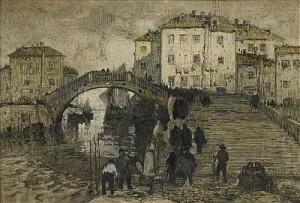 Venice by Konstantin Ivanovich GORBATOV
