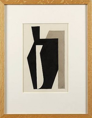 Abstrakt Komposition by Lars Erik FALK
