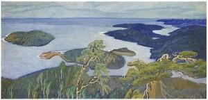 Kustparti Från Nordingrå - Ringkallen by Helmer OSSLUND