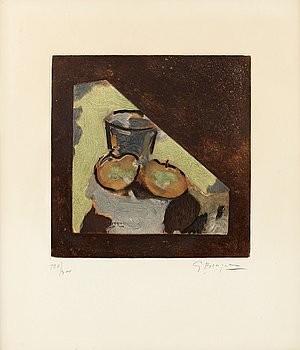 Nature Morte Oblique by Georges BRAQUE