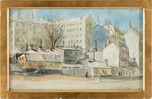 Stockholmsmotiv by Gunnar WIDFORSS