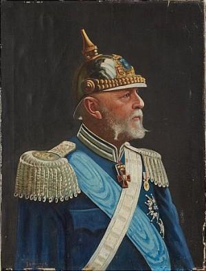 Porträtt Av Oscar Ii by Carl Gabriel WADELL