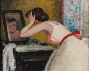 Eugénie Penchée Vers Le by Francois GALL