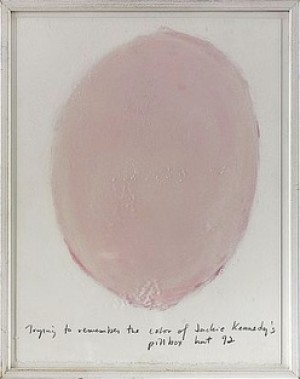 Trying To Remember The Color Of Jackie Kennedy´s Pillbox Hat 92 by Spencer FINCH