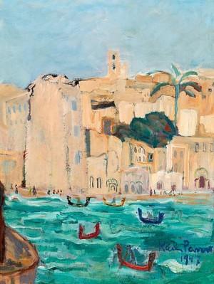 Vy Från Malta by Karin PARROW