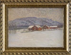 Vinterlandskap Från Ottsjö - Jämtland by Anton GENBERG