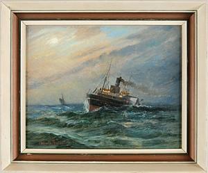 ångfartyg Till Havs by Valfrid NELSON