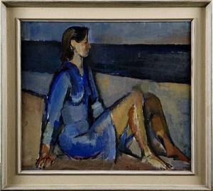 Kvinna by Alvar JANSSON