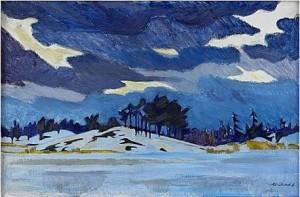 Vinterbild - Möja by Roland SVENSSON