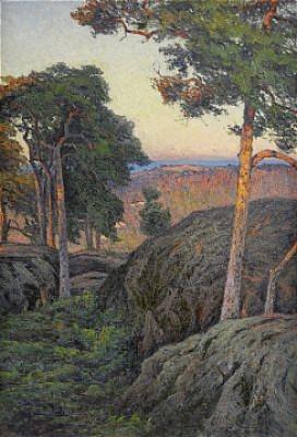 Aftonsol, Nynäs - Motiv Från Södertörn by Charlotte WAHLSTRÖM