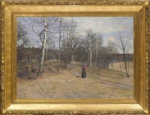 Tidig Vårdag by Alfred BERGSTRÖM