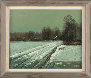 Snölandskap by Wiktor KORECKI